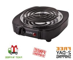Electric Stove Hot Plate Burner Home Office Kitchen Small Co
