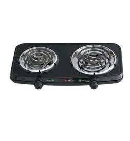 electric stove top high 2 burners double