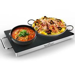 Electric Warming Tray / Food Warmer with Non-Stick Heat-Resi