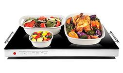 Chefman Electric Warming Tray with Adjustable Temperature Co