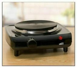 Elite Cuisine - 1000W Electric Buffet Burner - Black