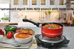 Elite Cuisine ESB-300X Single Countertop Portable Small Buff