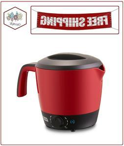 DASH DMC100RDDash Express Electric Cooker Hot Pot with Tempe
