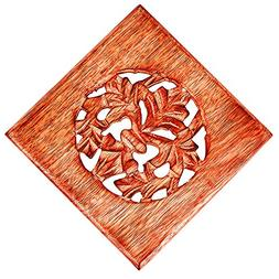Christmas Gifts Handmade Wooden Trivet For Hot Dishes Plates