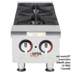 APW Wyott GHP-4i 4 Burner Gas Countertop Champion Hotplate