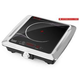 Techwood Hot Plate Electric Burner Portable Single Burner In