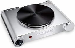 SUNAVO Hot Plate for Cooking Portable Electric Single Burner