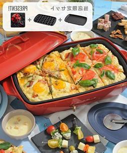 BRUNO Hot Plate Takoyaki Grande size Slate S Japan NEW F/S