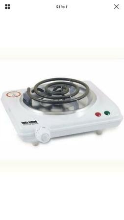 Better Chef IM-305SB Electric Countertop Range - White Color