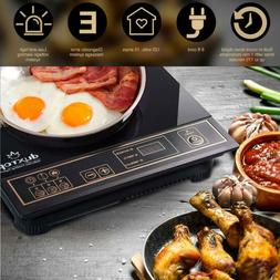 Induction Cooktop Countertop Burner Duxtop 8100MC 1800W Port