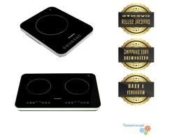 Ovente Induction Countertop LED Burner Cool Touch Ceramic Gl