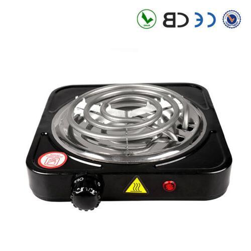 1000w portable electric single burner hot plate