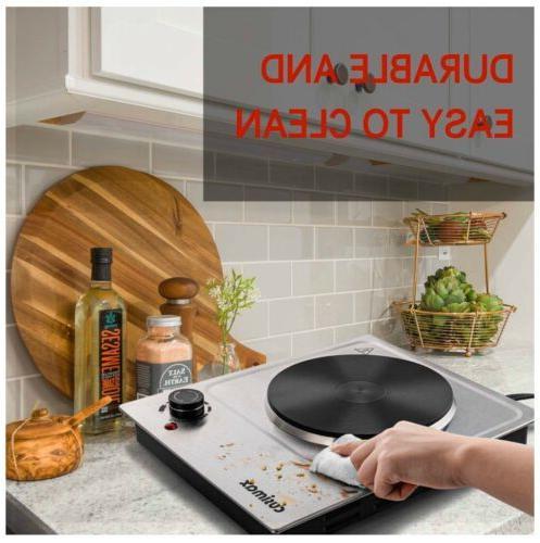CUSIMAX Plate, Hot Plate Cooking Single Burner