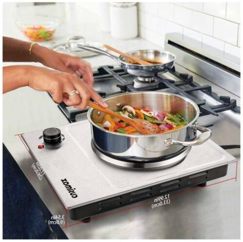 CUSIMAX Plate, Plate Cooking
