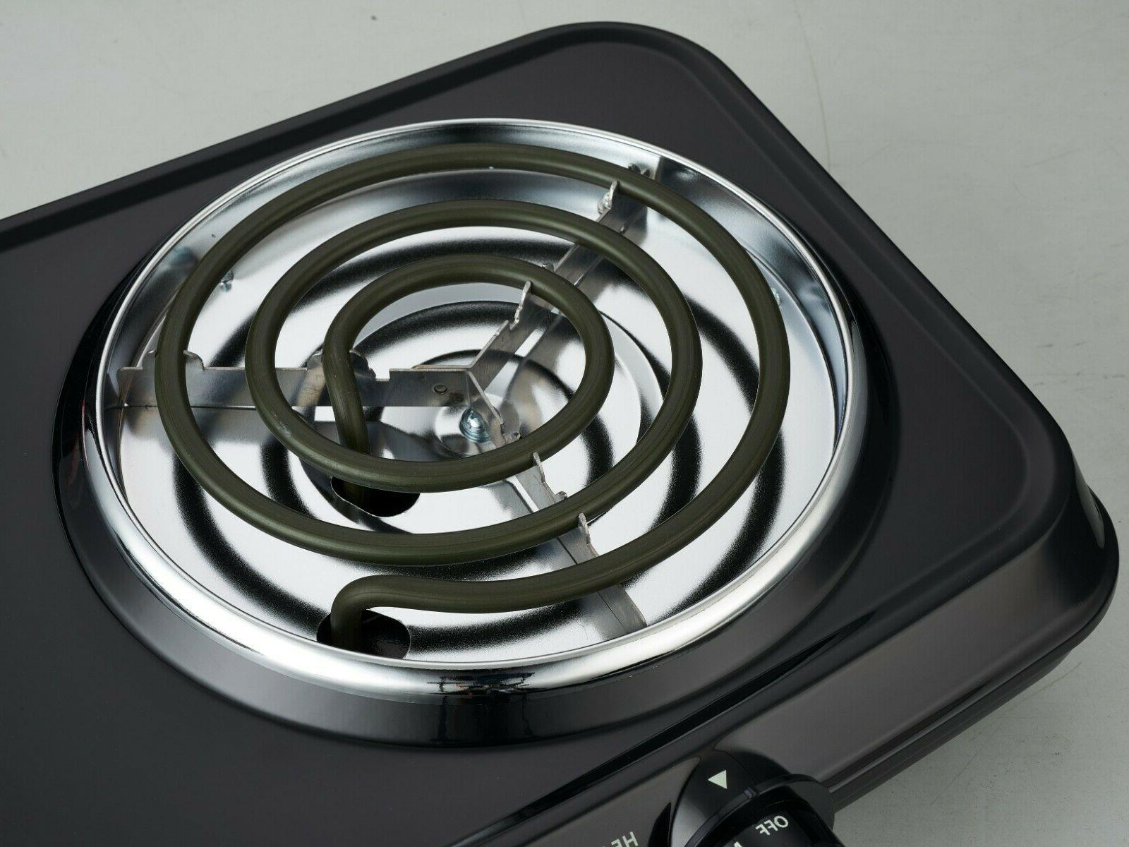1800W Mainstays Double Hot Plate  120V -- **MSRP:59.99