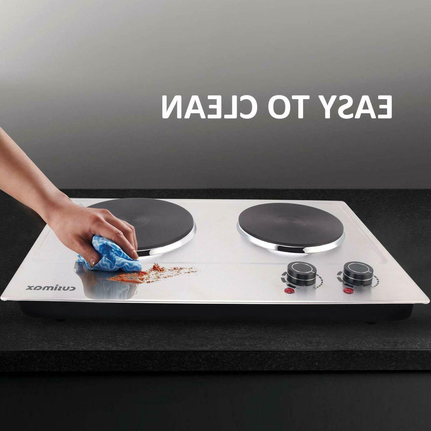 1800W Plate Cooking Electric-Double Electric