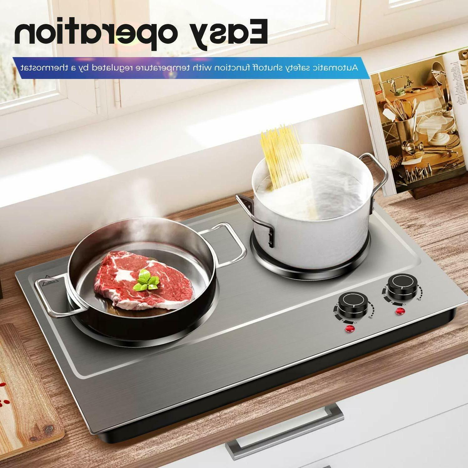 1800W for Cooking Electric-Double Electric Electric
