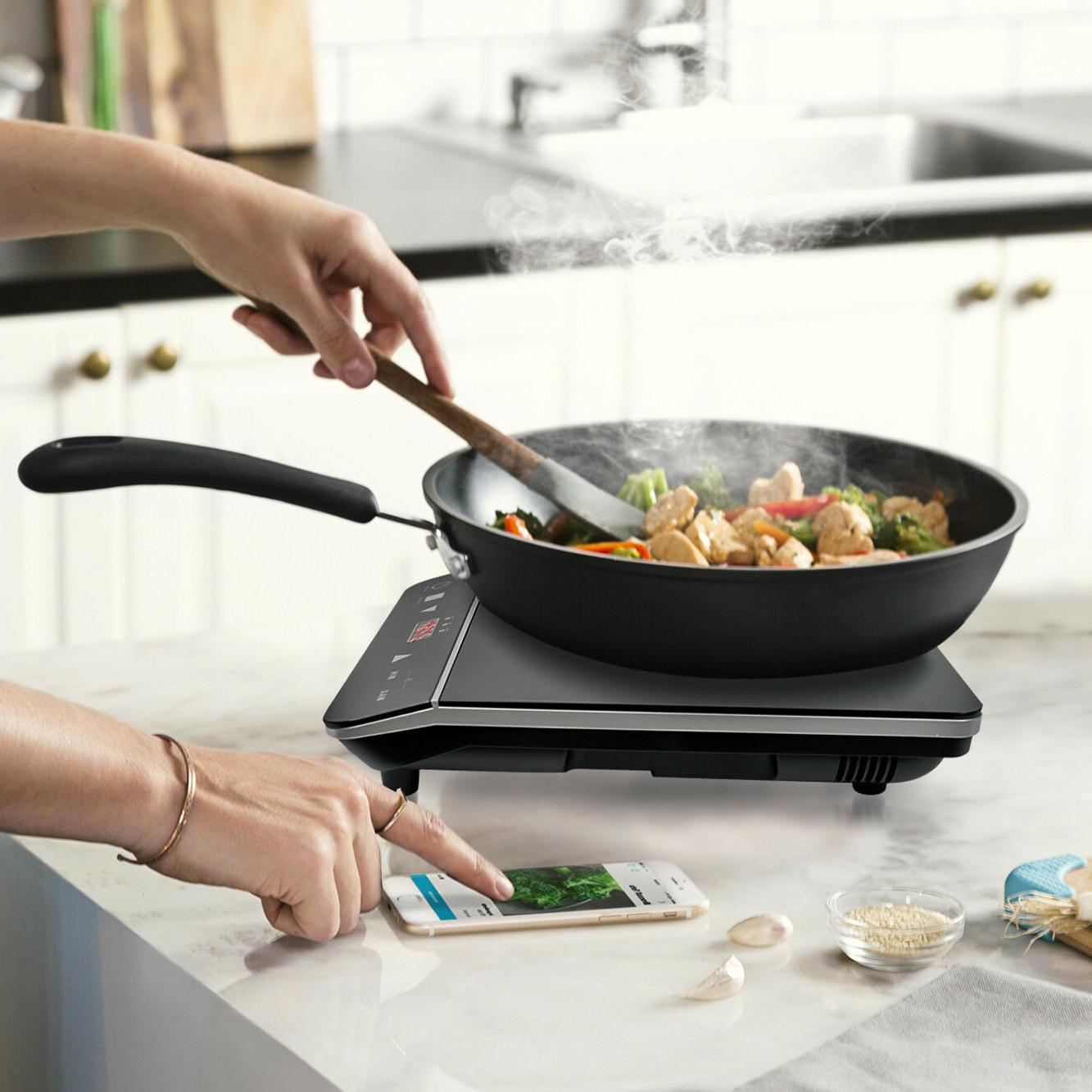 1800W Portable Induction Countertop Stove