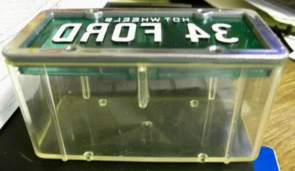 Hot 1988 Plates Storage Container for Blue Ford