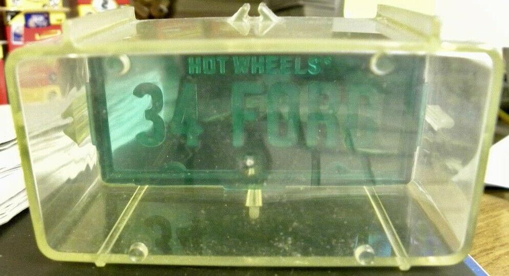Hot 1988 Park'N Plates Storage Container Blue '34 Ford
