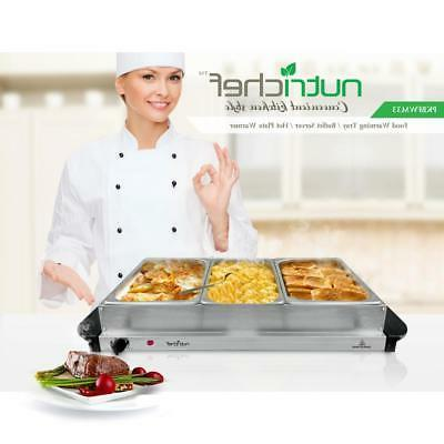 Food Warming Tray Server / Warmer