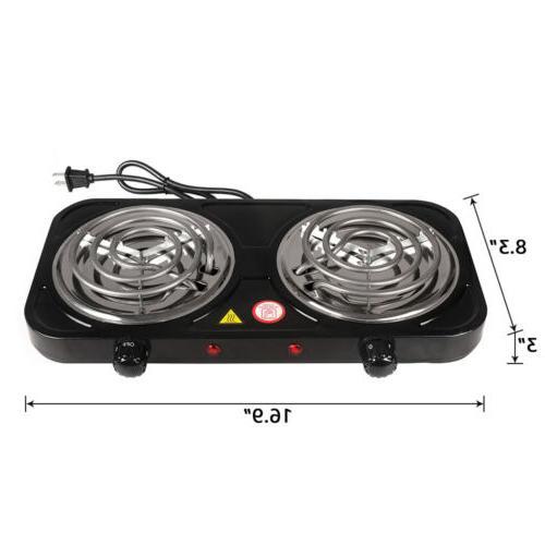 Portable Dual Burner Hot Stove