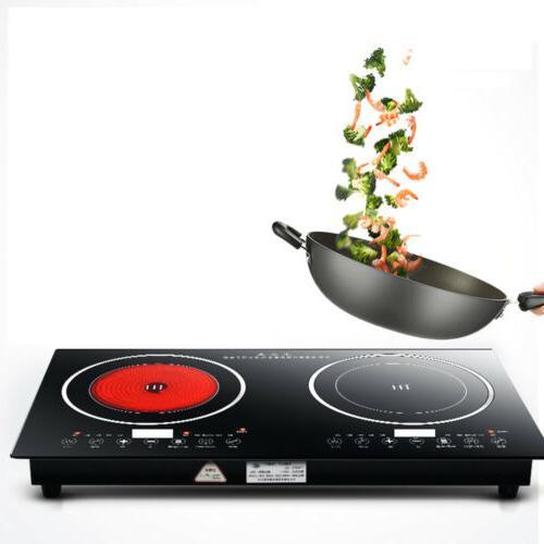 2400W Cooker Portable Burner Cooktop Digital