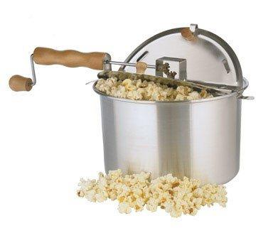 NEW Wabash Valley Farms 25008 Whirley-Pop Stovetop Popcorn Popper!