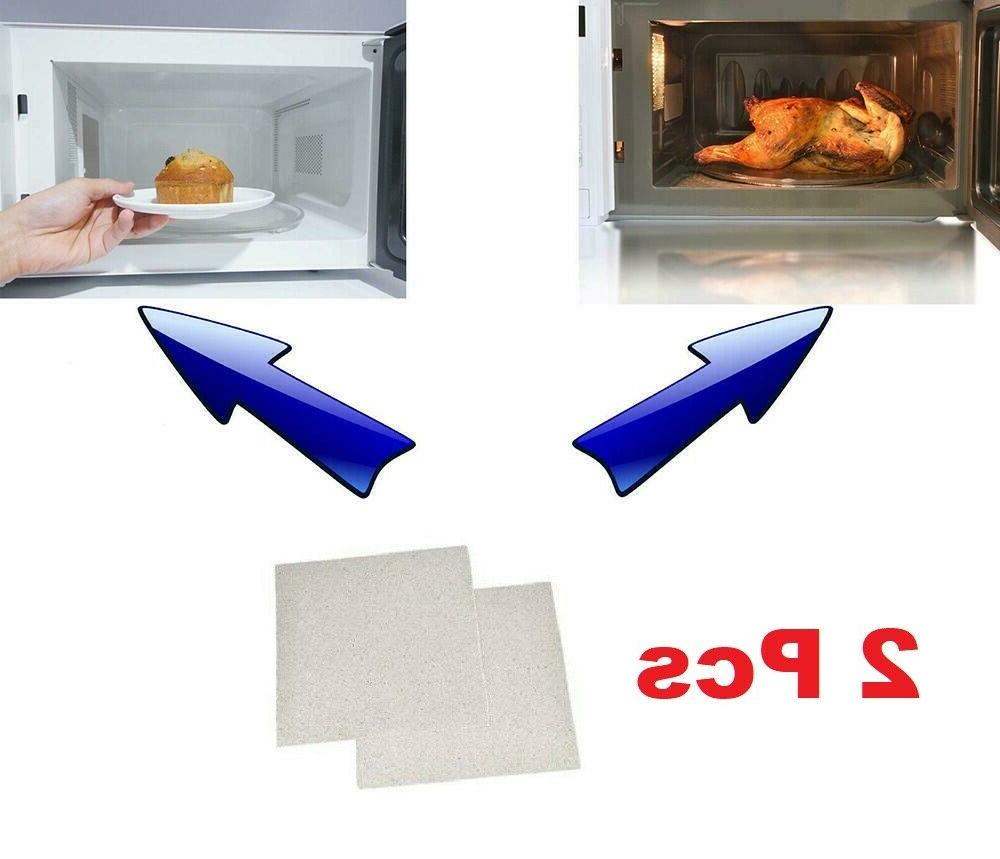 2x Microwave Oven Sheet Wave Guide Hot