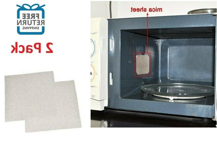 2x high quality universal microwave oven mica