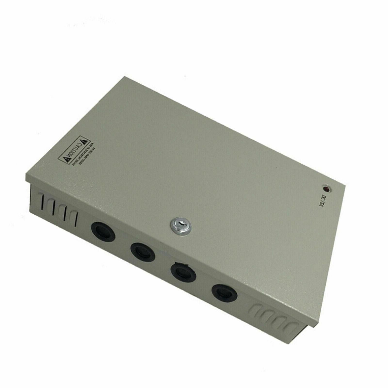9 Camera Power DC 12V 10A DVR