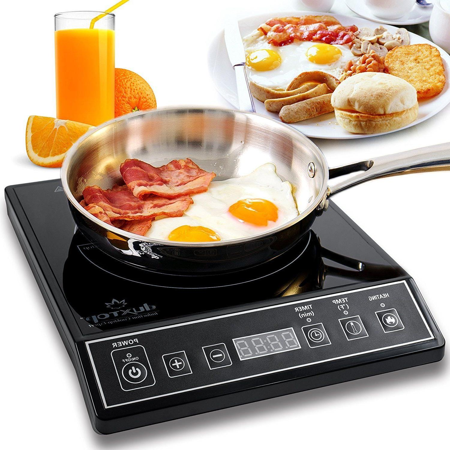9100mc 1800w portable induction cooktop countertop burner
