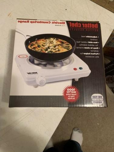 Better Chef - Electric Countertop Range - White