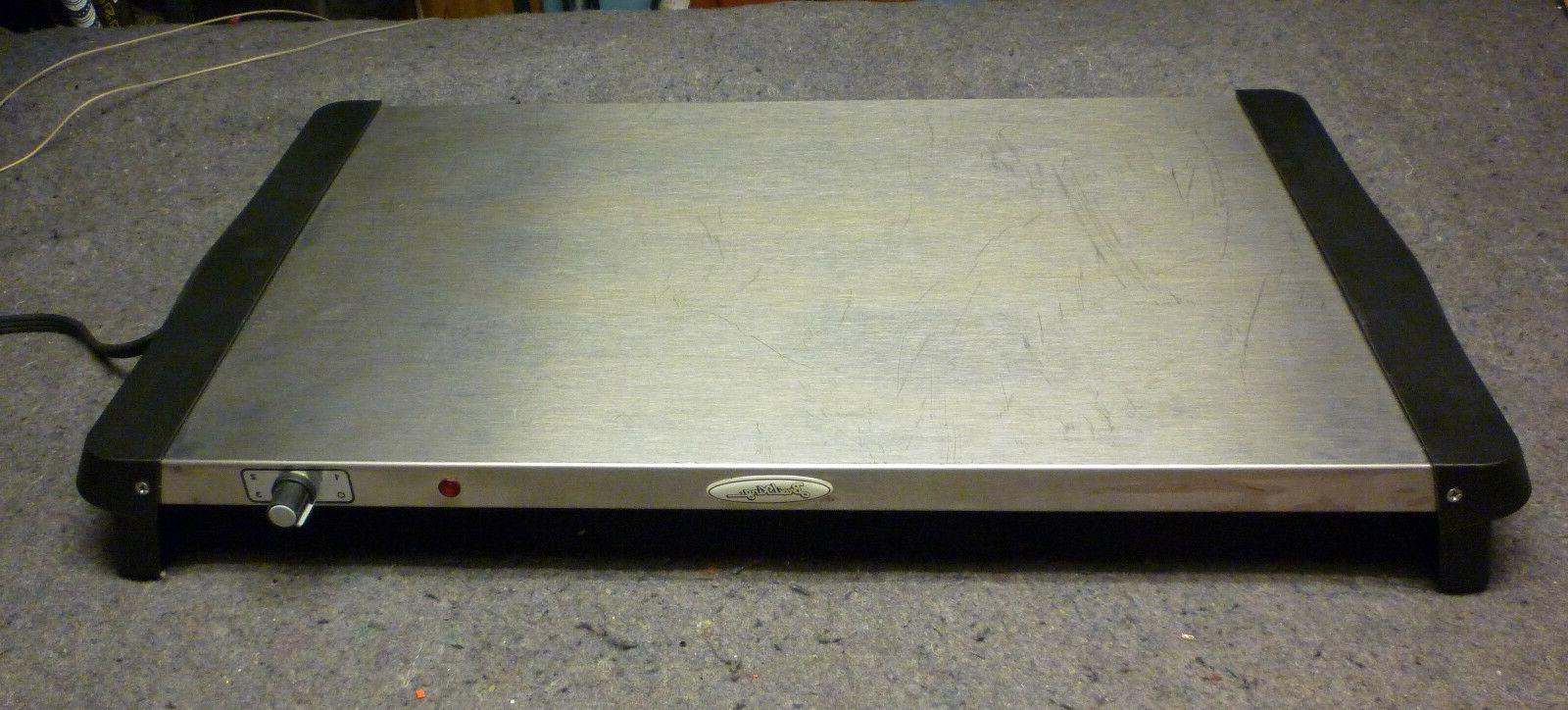 Broil King NWT-1S Professional 300-Watt Warming Tray, Stainl