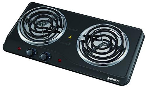 Courant 1700W Hotplate, Countertop Portable Electric CEB2183K
