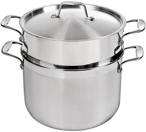 Duxtop SSC-14PC Whole-Clad Tri-Ply Set, Stainless