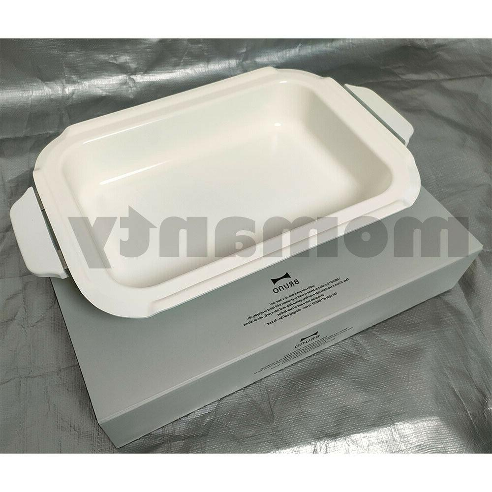 BRUNO compact hot plate ceramic coated pot for BOE021-NABE B