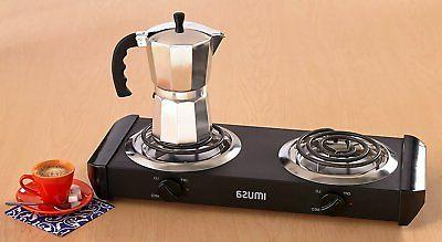 Burner 2 Stove Commercial Portable Electric Double Hot