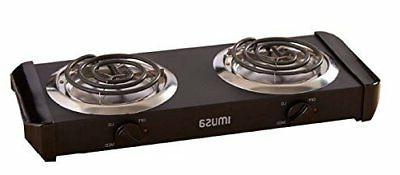 burner 2 two cooking stove commercial buffet