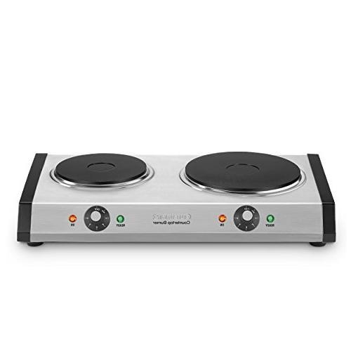 cast iron double burner