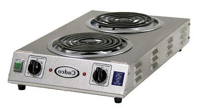 CADCO CDR-2TFB Hot Plate,Double,220V
