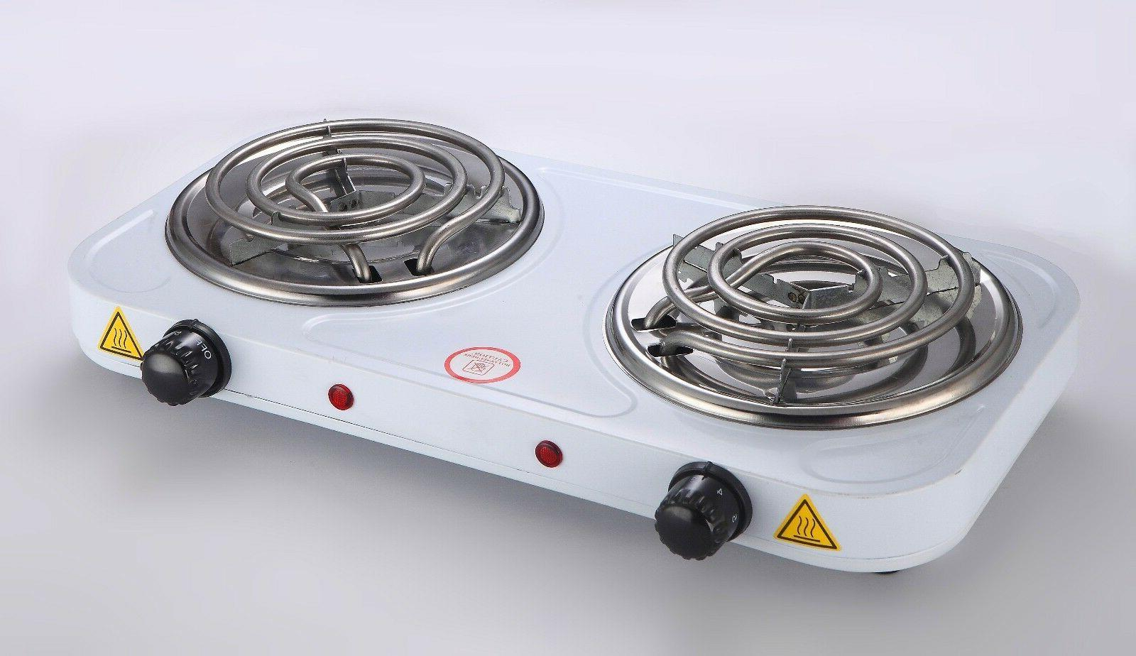 cookmaster electric double burner portable hotplates burners