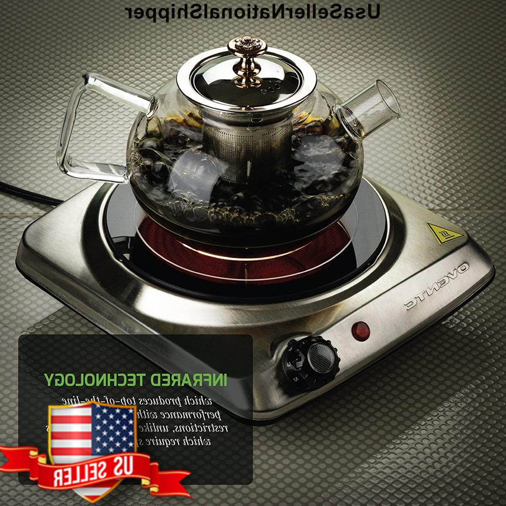 Cooktop Double Infrared Electric 2 Ceramic Glass