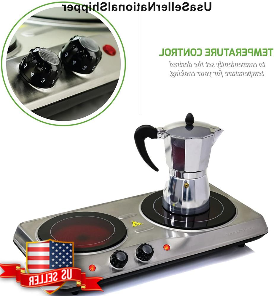 Cooktop Double Infrared Electric Hot Plate 2