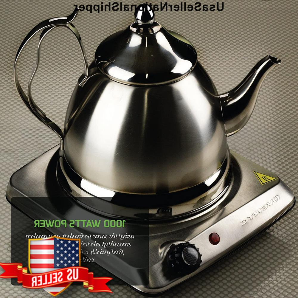 Cooktop Electric Hot 2 Glass Burners