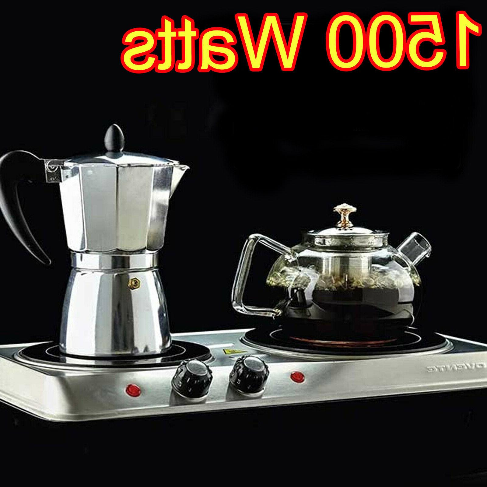 cooktop double burner infrared electric hot plate