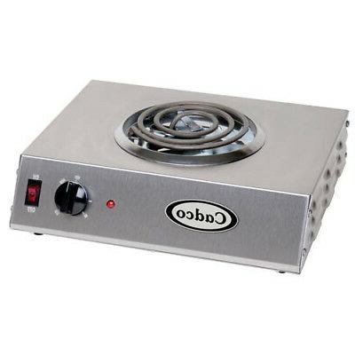 countertop electric range 1 8 burner 1500