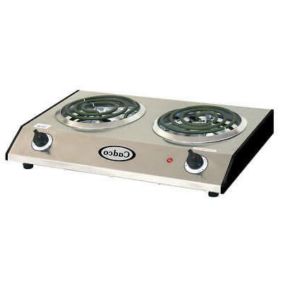 double hot plate 1650 watts brc d1n