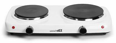 Maxi-Matic Dual Temperature Double Burner, EDB-302F, 1500-Wa