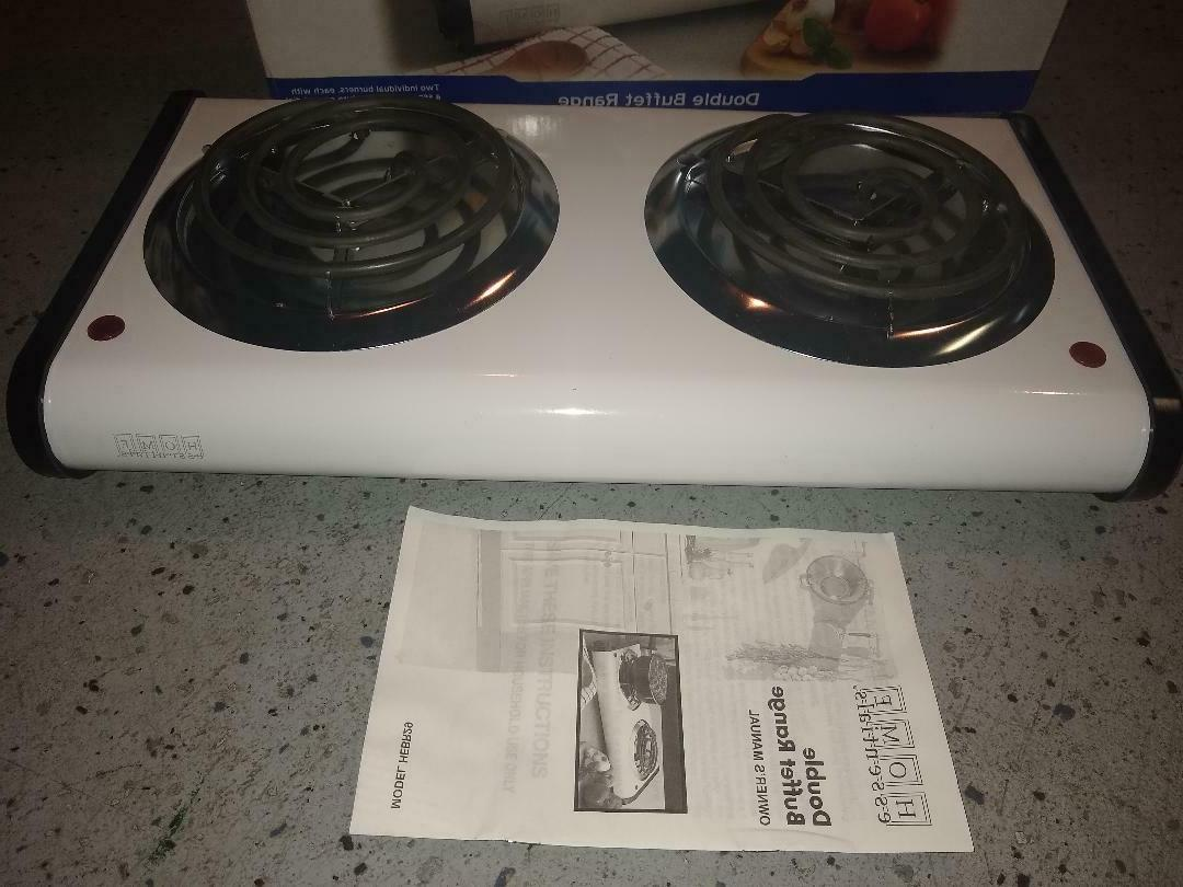 Electric 2 Burner Top High Kitchen